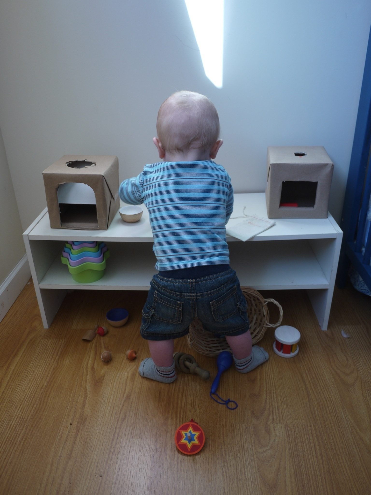 Quentin 12 Months – Our Montessori Life