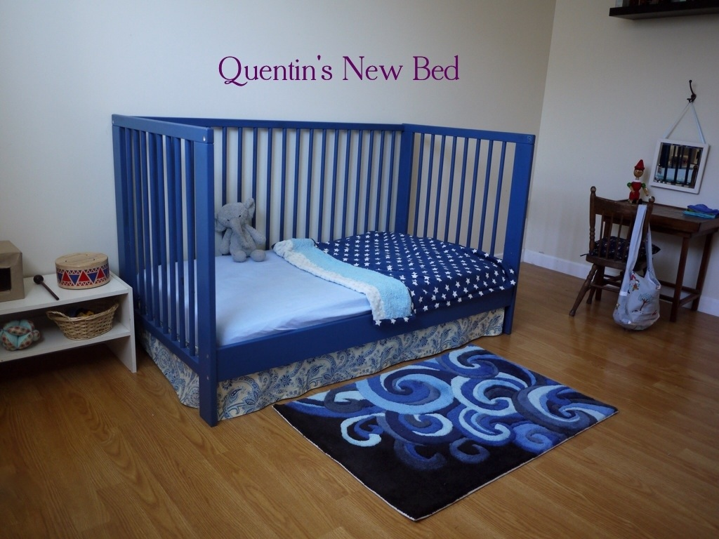 Our Montessori Toddler Bedroom Transition Our Montessori