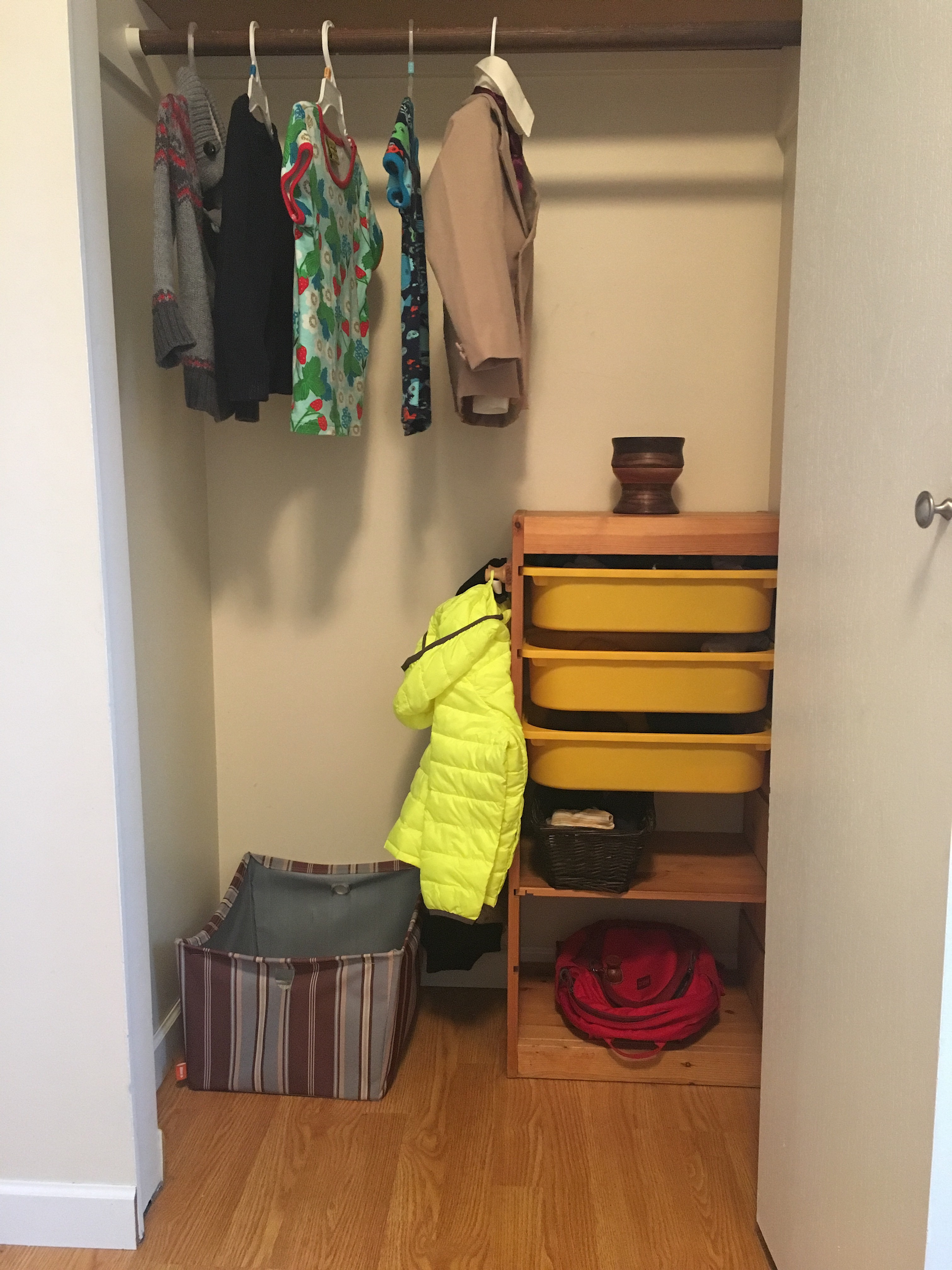 Independence Is A Cornerstone In Montessori. When Choices Or Access Become  Overwhelming, Independence Suffers. This Is Quentinu0027s Closet In His Room.